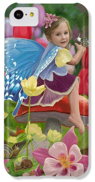 Fairy iPhone 5c Case - Spring Fairy by Lucie Bilodeau
