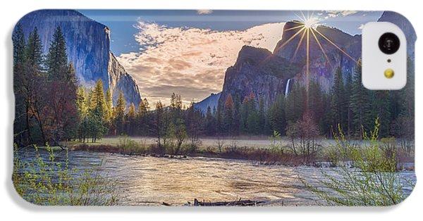 Spring Sunrise At Yosemite Valley IPhone 5c Case by Scott McGuire