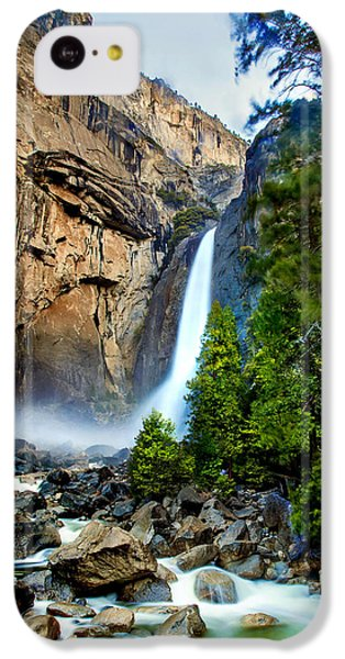 Yosemite National Park iPhone 5c Case - Spring Valley by Az Jackson