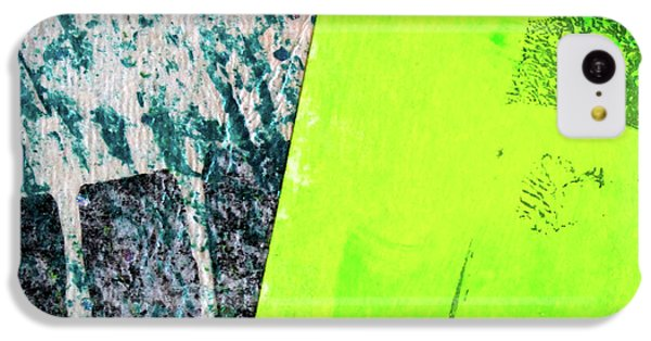 IPhone 5c Case featuring the mixed media Square Collage No 1 by Nancy Merkle