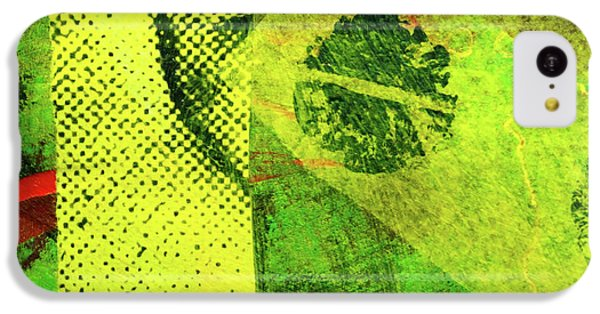 IPhone 5c Case featuring the mixed media Square Collage No. 8 by Nancy Merkle