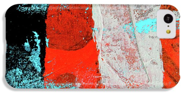 IPhone 5c Case featuring the mixed media Square Collage No. 9 by Nancy Merkle