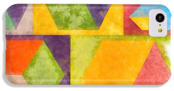 Square Cubes Abstract IPhone 5c Case