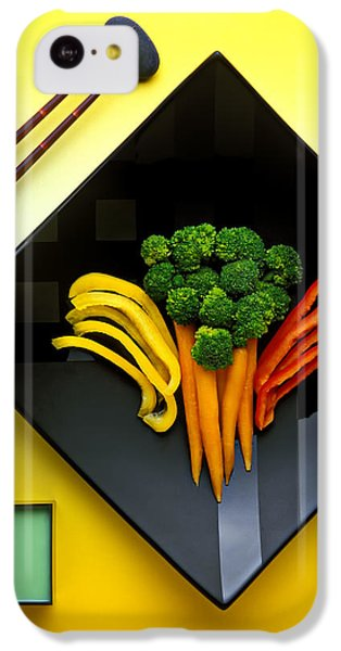 Carrot iPhone 5c Case - Square Plate by Garry Gay