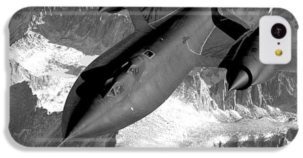 Sr-71 Blackbird Flying IPhone 5c Case