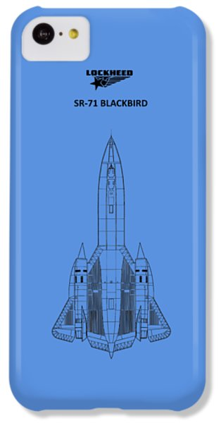 Sr-71 Blackbird IPhone 5c Case by Mark Rogan