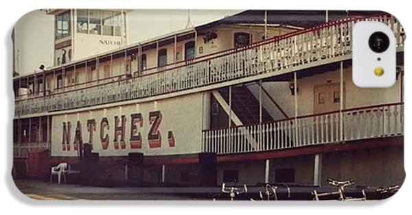 Ss Natchez, New Orleans, October 1993 IPhone 5c Case by John Edwards