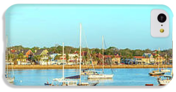 IPhone 5c Case featuring the photograph St Augustine Panorama by Sebastian Musial
