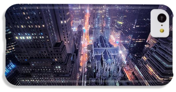 Design iPhone 5c Case - St. Patrick's Cathedral by Mariel Mcmeeking