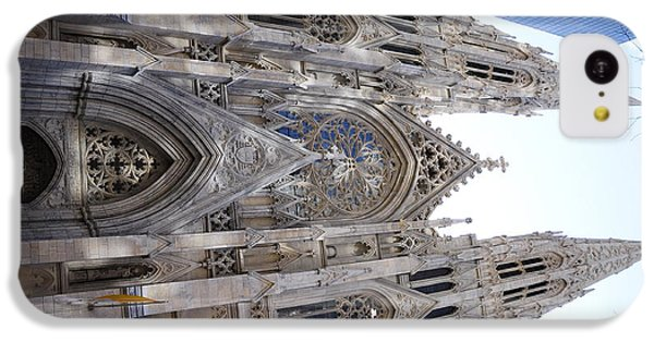 Design iPhone 5c Case - St Patrick's Cathedral Nyc by Jeffson Chan