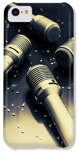 Sound iPhone 5c Case - Staging A Disco by Jorgo Photography - Wall Art Gallery