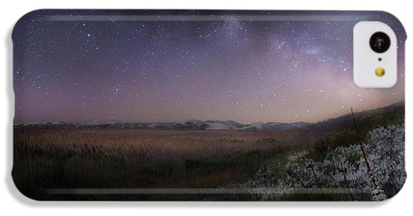 IPhone 5c Case featuring the photograph Star Flowers Square by Bill Wakeley