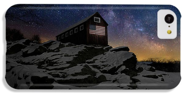 IPhone 5c Case featuring the photograph Star Spangled Banner by Bill Wakeley