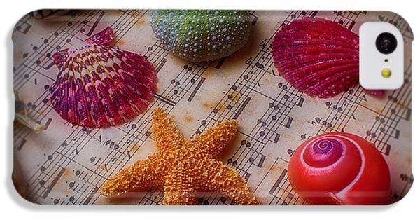 Starfish On Sheet Music IPhone 5c Case by Garry Gay