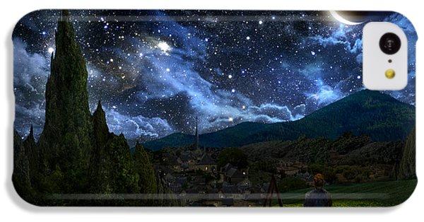 Starry Night IPhone 5c Case by Alex Ruiz