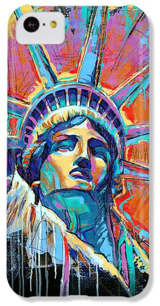 Statue Of Liberty New York Art Usa IPhone 5c Case