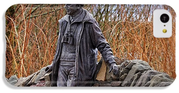 IPhone 5c Case featuring the photograph Statue Of Tom Weir by Jeremy Lavender Photography