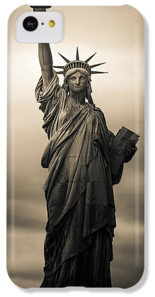 Statute Of Liberty IPhone 5c Case