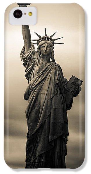 Statute Of Liberty IPhone 5c Case by Tony Castillo