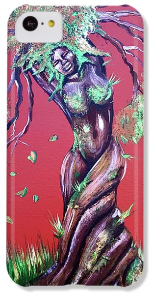 iPhone 5c Case - Stay Rooted- Stay Grounded by Artist RiA