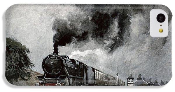 Steam Train At Garsdale - Cumbria IPhone 5c Case