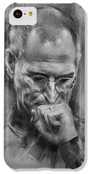 Apple iPhone 5c Case - Steve Jobs by Ylli Haruni