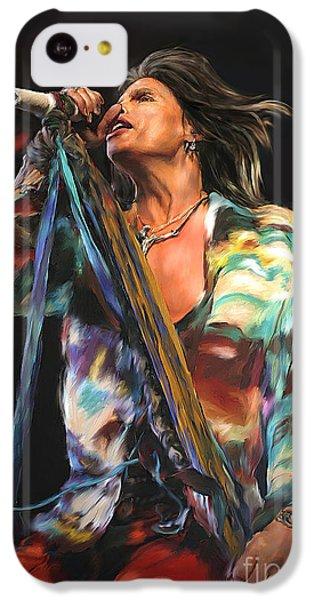 Steven Tyler 01 IPhone 5c Case by Dawn Serkin