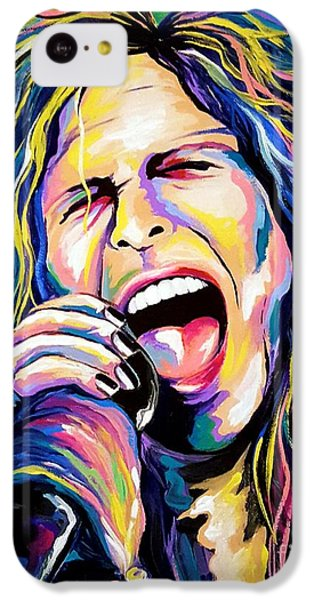 Steven Tyler iPhone 5c Case - Steven Tyler by Amy Belonio