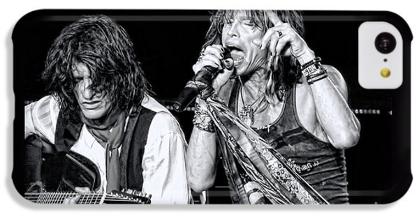 Steven Tyler iPhone 5c Case - Steven Tyler Croons by Traci Cottingham