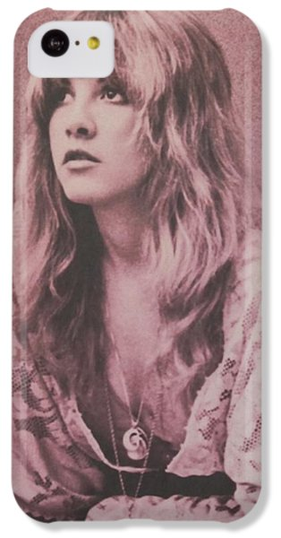 Music iPhone 5c Case - Stevie Nicks  by Donna Wilson