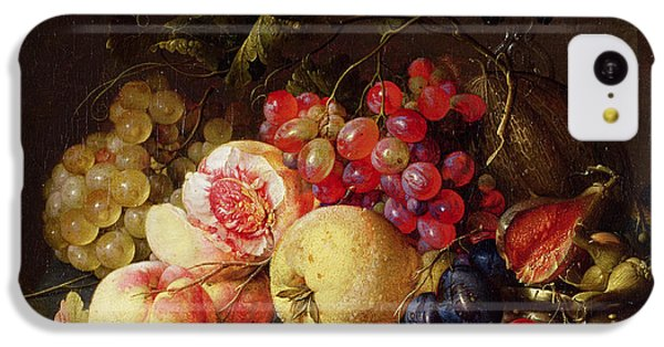 Still Life IPhone 5c Case by Cornelis de Heem
