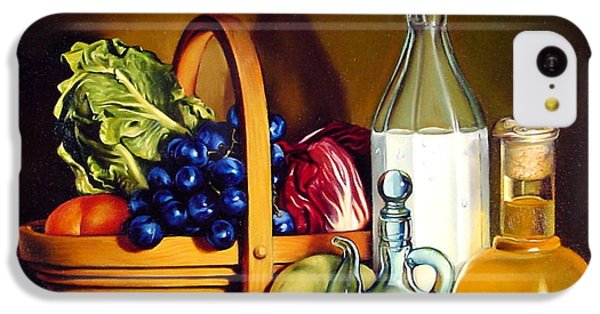 Still Life In Oil IPhone 5c Case by Patrick Anthony Pierson
