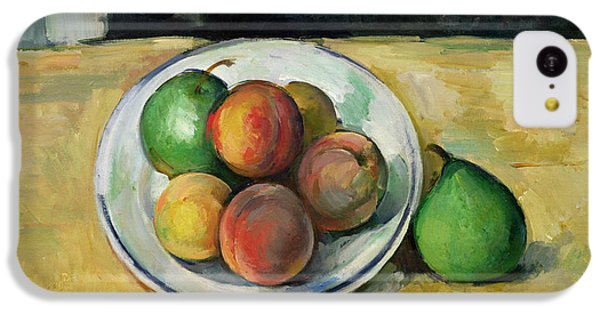 Still Life With A Peach And Two Green Pears IPhone 5c Case