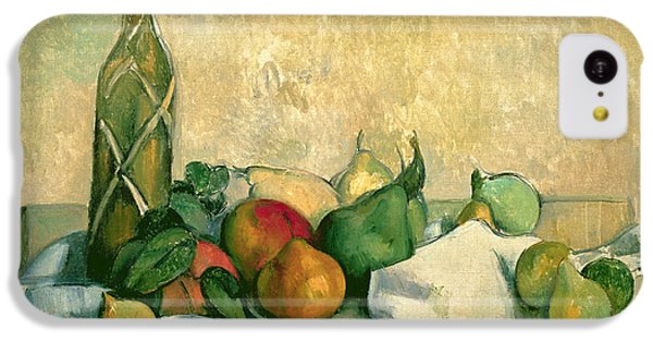 Still Life With Bottle Of Liqueur IPhone 5c Case by Paul Cezanne