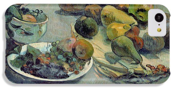 Still Life With Fruit IPhone 5c Case by Paul Gauguin