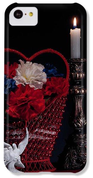 Still Life With Lovebirds IPhone 5c Case by Tom Mc Nemar