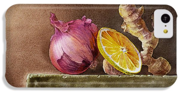 Still Life With Onion Lemon And Ginger IPhone 5c Case