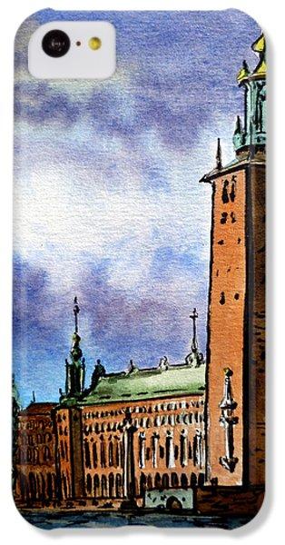Stockholm Sweden IPhone 5c Case