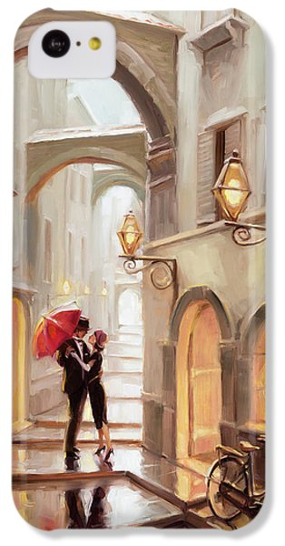 Impressionism iPhone 5c Case - Stolen Kiss by Steve Henderson