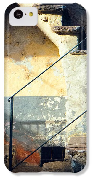 Stone Steps Outside An Old House IPhone 5c Case by Silvia Ganora