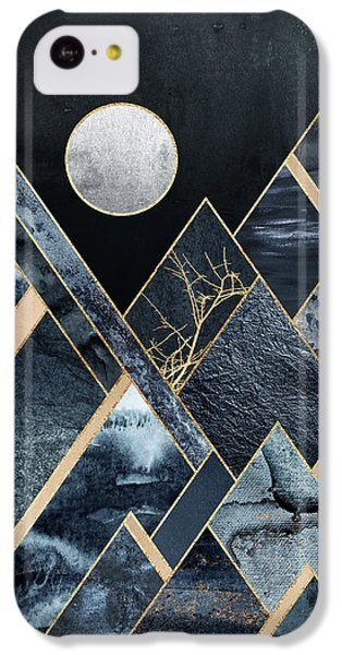 Mountain iPhone 5c Case - Stormy Mountains by Elisabeth Fredriksson