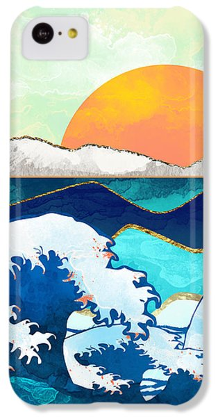 Landscapes iPhone 5c Case - Stormy Waters by Spacefrog Designs
