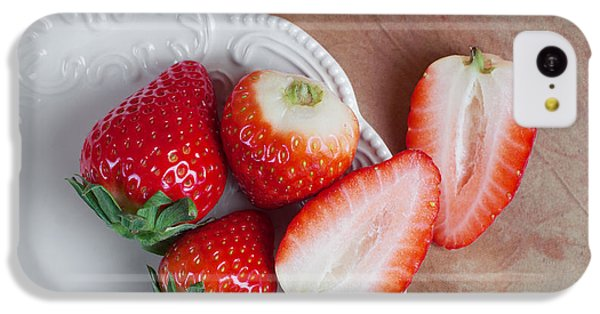 Strawberries From Above IPhone 5c Case
