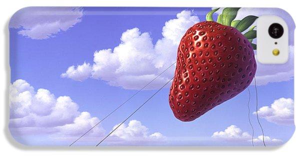 Strawberry Field IPhone 5c Case by Jerry LoFaro