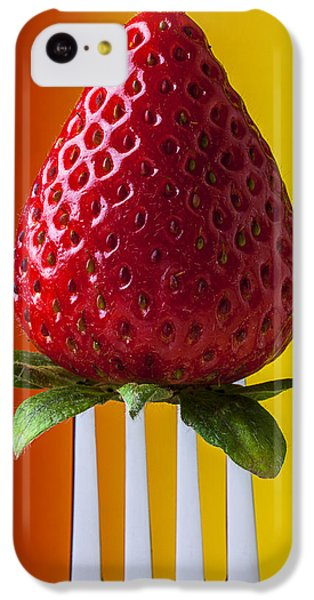 Strawberry On Fork IPhone 5c Case