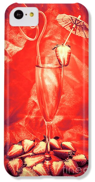 Martini iPhone 5c Case - Straweberry Tropical Cocktail Drink by Jorgo Photography - Wall Art Gallery