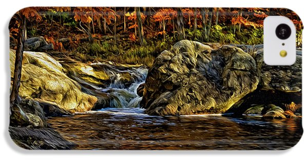 Stream In Autumn 57 In Oil IPhone 5c Case by Mark Myhaver