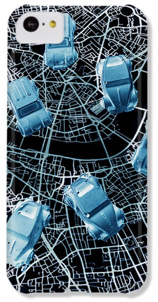 Navigation iPhone 5c Case - Street Racers Gps by Jorgo Photography - Wall Art Gallery