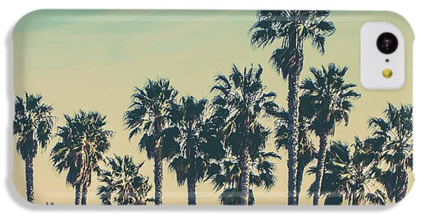 Venice Beach iPhone 5c Case - Stroll Down Venice Beach by Az Jackson