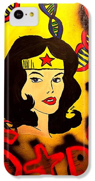 Strong Veins  IPhone 5c Case by Miriam Moran